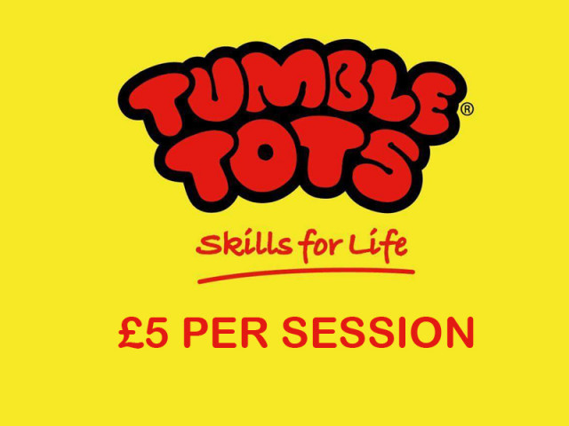 £5 Per Session - Tumble Tots, St Mary's Church Hall,