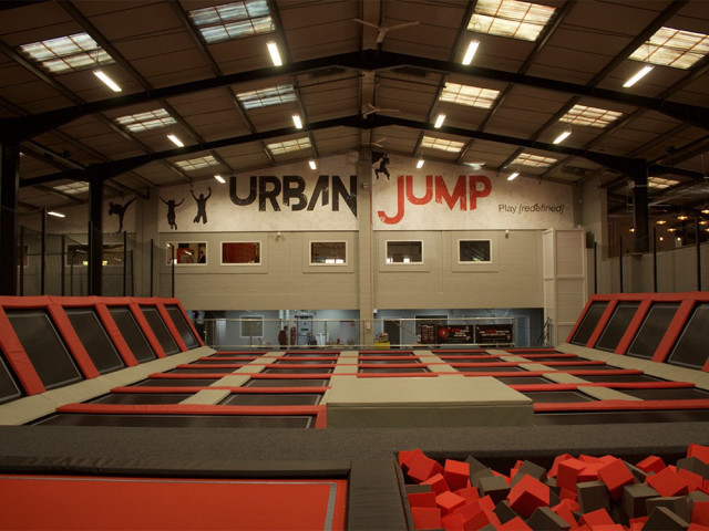 Half Price Entry For Two Carers - Urban Jump