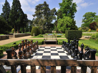 Giant Chess Board at Groombridge Place