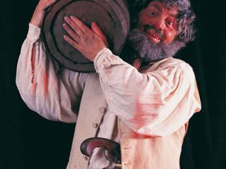 Smuggler Carrying a Barrel