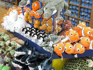 Blue Aquarium Gift Shop