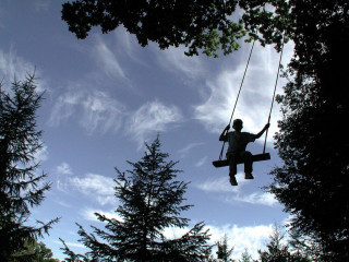 The high swing at Groombridge Place