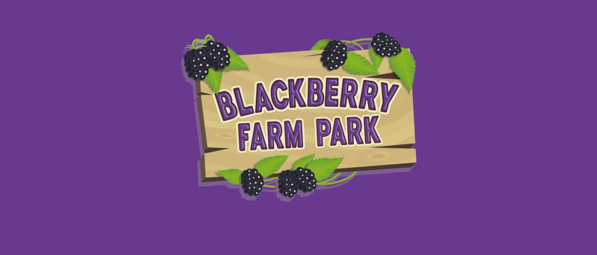 Blackberry Farm park logo in purple