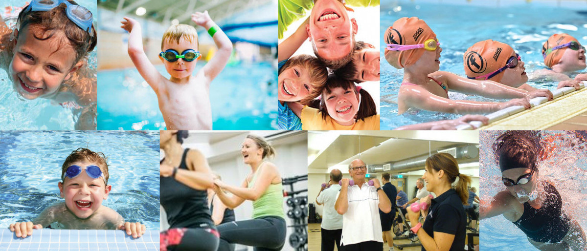 collage of different freedom leisure activities